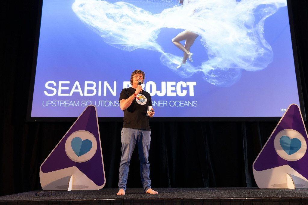 booking.com. funds seabin project