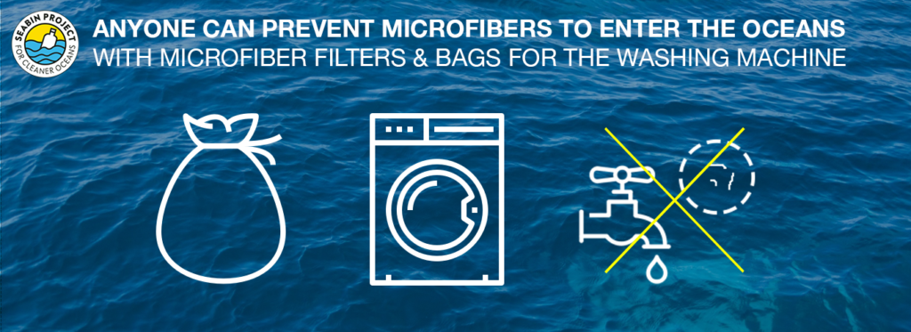 prevent microfibers from entering the ocean