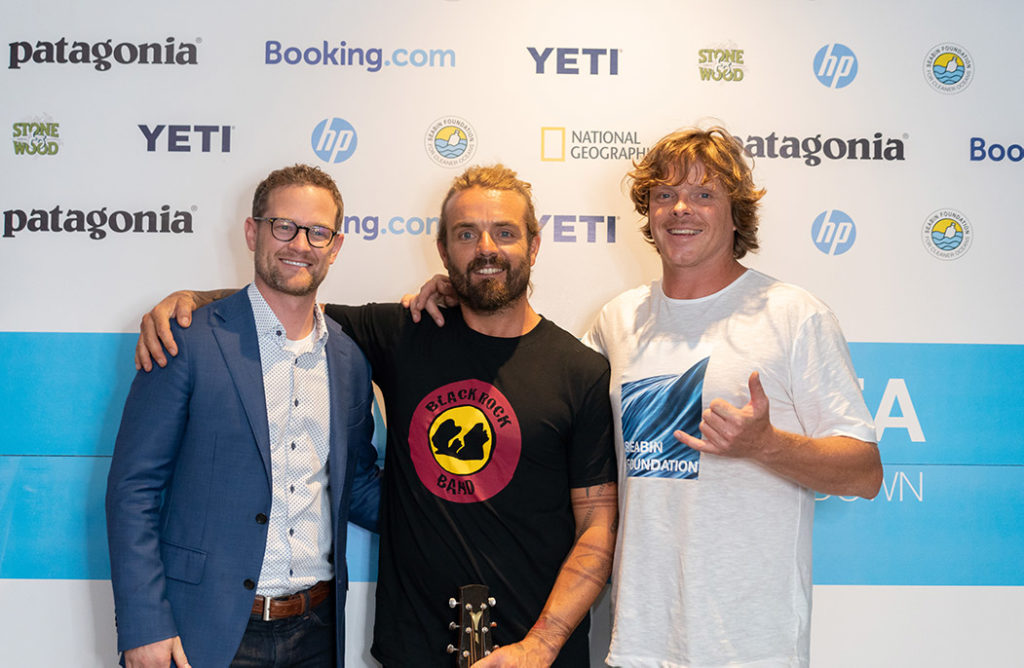 Dan Henry, Xavier Rudd, and Pete Ceglinski.