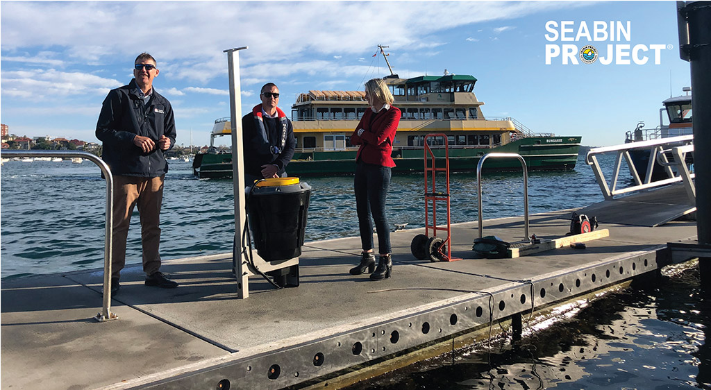 STATE FUNDED SEABIN TRIAL - SYDNEY HARBOUR