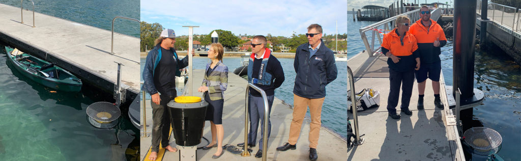 State funded Seabin Trial Sydney Harbour1