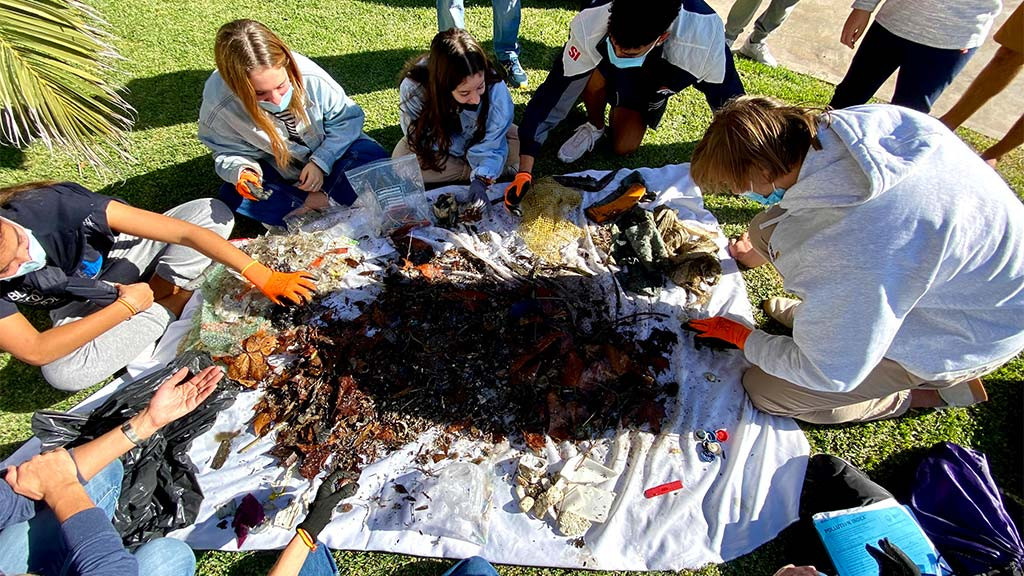 seabin microplastics education program Spain 2020